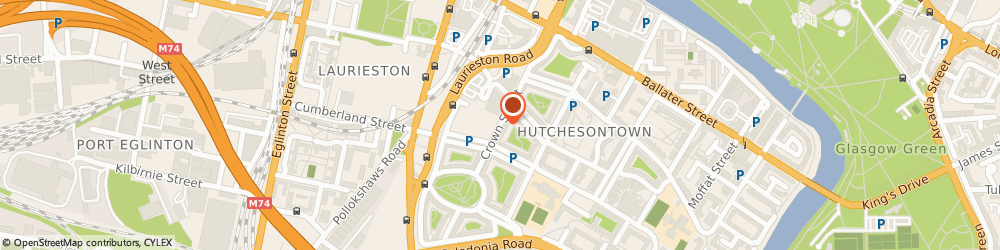 Route/map/directions to LLOYDS PHARMACY, G5 9ZR Glasgow, Crown Street