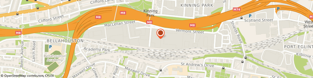 Route/map/directions to a C S Environmental Services, G41 1BS Glasgow, 4/CLAREMONT CENTRE 39 DURHAM STREET