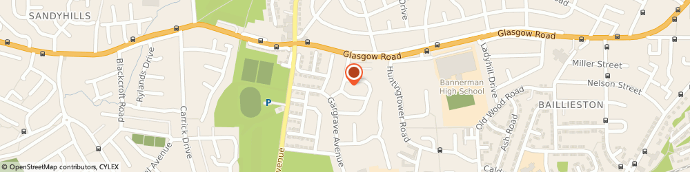 Route/map/directions to ID Fire Ltd, G69 7LB Glasgow, 8 Garforth Rd