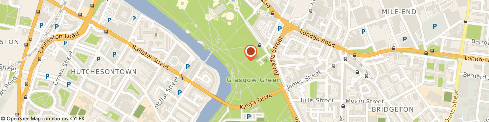 Route/map/directions to Holistic Centres Scotland Limited, G40 1ES Glasgow, 19 Greenhead Street, Glasgow Green