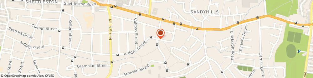 Route/map/directions to Target Foodland, G32 9EE Glasgow, 380 ARDGAY STREET