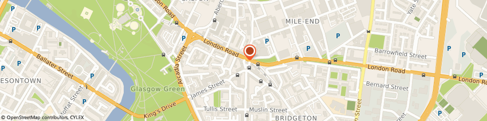 Route/map/directions to Bizzie Bees, G40 1BW Glasgow, 7 Bridgeton Cross