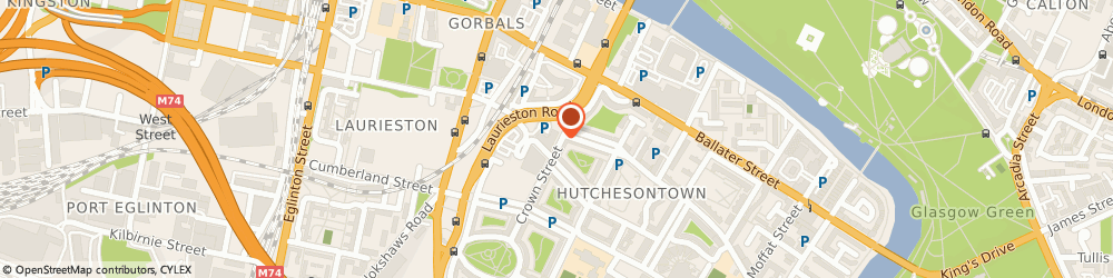 Route/map/directions to LORETTO CARE, G5 9XD Glasgow, 170 Crown St
