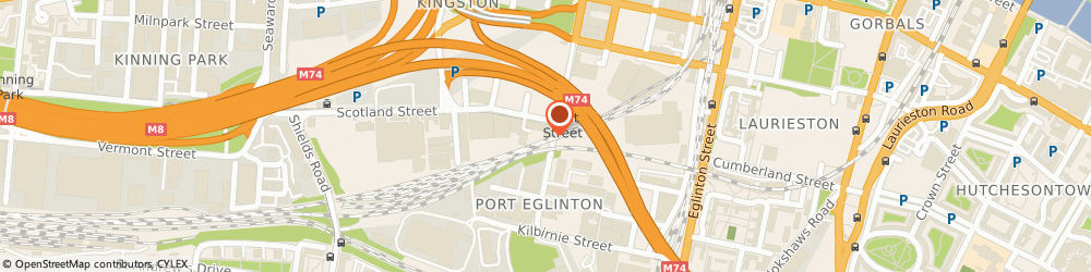 Route/map/directions to Simple Digital Ltd, G5 8LS Glasgow, 1 - 3 Scotland Street