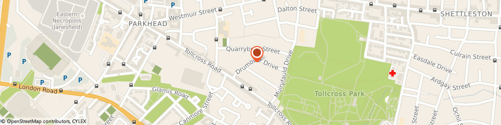 Route/map/directions to Rev r Anderson, G31 5RP Glasgow, 98 DRUMOVER DRIVE