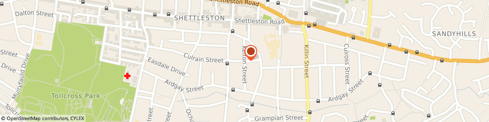 Route/map/directions to RANCEL ROOFING & CLADDING LTD, G32 7UY Glasgow, 80 Kelton St