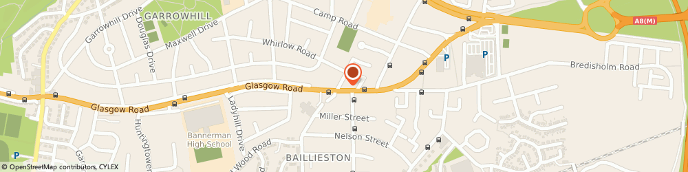 Route/map/directions to LloydsPharmacy, G69 6SG Glasgow, 3/5 Main Street