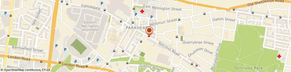Route/map/directions to Jobs & Business Glasgow, G31 4XA Glasgow, 64 Tollcross Road