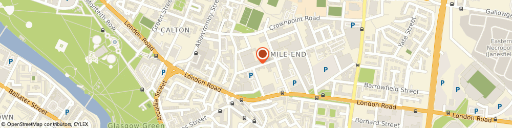 Route/map/directions to ANDREWS OF BOTHWELL LTD, G40 2QW Glasgow, C/O NGM ACCOUNTANTS PARK LANE HOUSE, 47 BROAD STREET