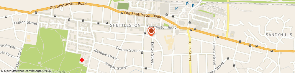 Route/map/directions to North British Bowling Club, G32 7UN Glasgow, 42 AMULREE STREET