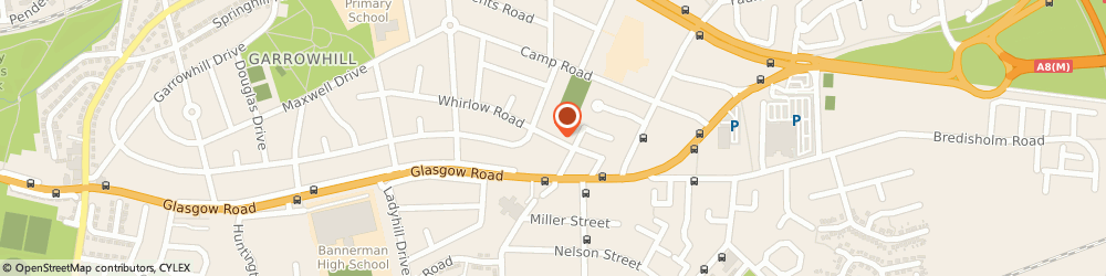 Route/map/directions to PETS MAD, G69 1AS Glasgow, 68 Whirlow Road