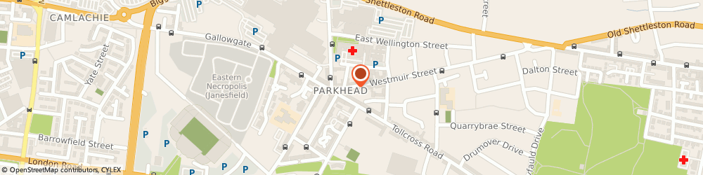 Route/map/directions to Drinks Express, G31 5EL Glasgow, 33 Westmuir St