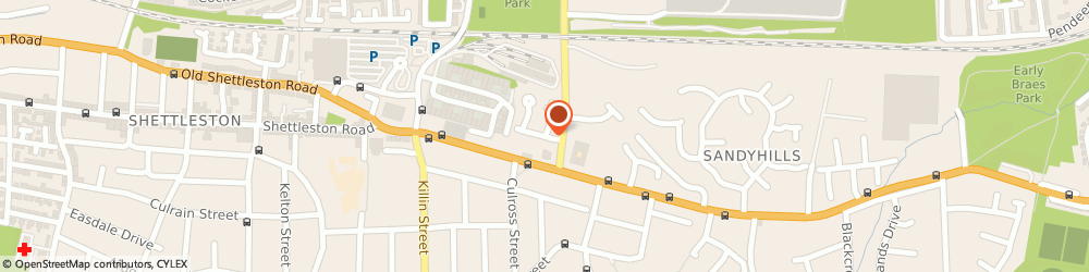 Route/map/directions to Scottish Training Foundation, G32 0HU Glasgow, 12 Eastbank Drive
