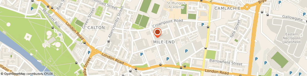 Route/map/directions to Saltire Graphics, G40 2AB Glasgow, 60 Brook Street