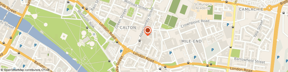 Route/map/directions to ACT Counselling Services, G40 2DD Glasgow, 279 Abercromby St