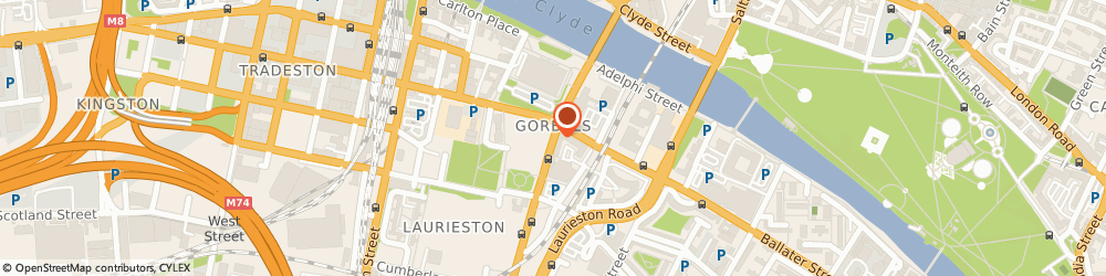 Route/map/directions to Alterledger Ltd, G5 9DW Glasgow, Legal House, 101 Gorbals Street