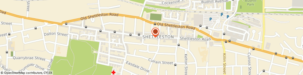 Route/map/directions to Hello Petal Florist, G32 7PP Glasgow, 1040 Shettleston Rd