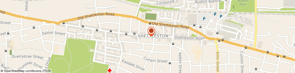 Route/map/directions to Eusebis, G32 7PP Glasgow, 1044 Shettleston Rd