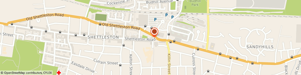Route/map/directions to The PC Experts.co.uk, G32 7NG Glasgow, 1207 Shettleston Rd