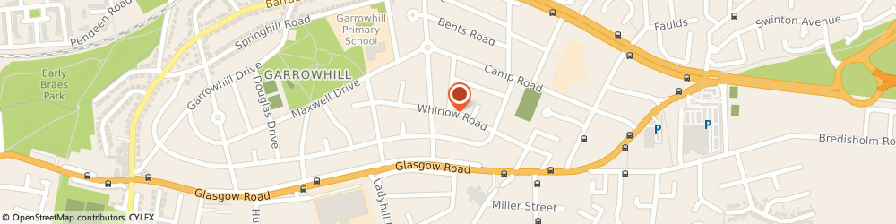 Route/map/directions to Tell Design & Print, G69 6QE Glasgow, 68 Whirlow Rd