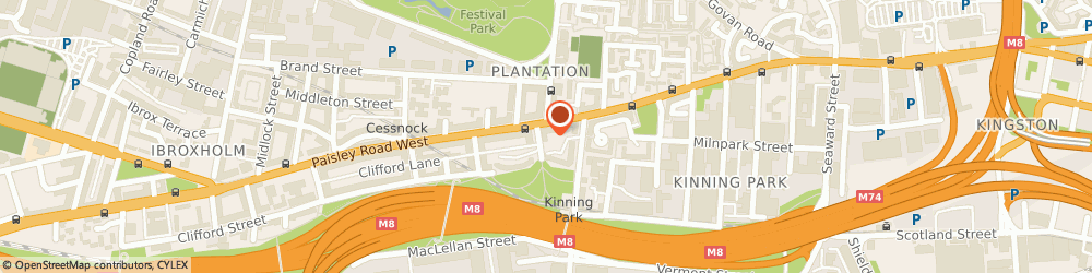 Route/map/directions to Meningitis Association Of Scotland, G51 1ND Glasgow, 9 EDWIN STREET