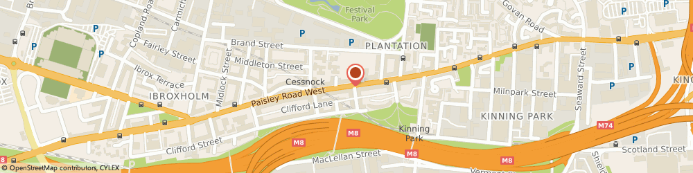 Route/map/directions to Supreme Private Hire, G51 1LG Glasgow, 319 Paisley Road West