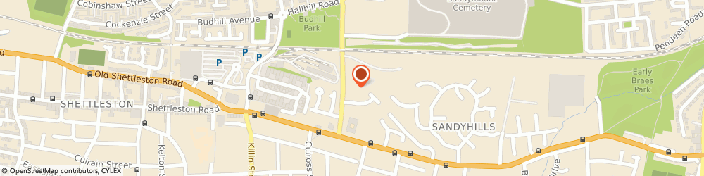 Route/map/directions to Eastbank Nursing Home, G32 0HA Glasgow, 98 Gartocher Rd