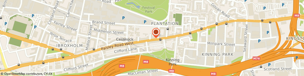Route/map/directions to Firstvets Ltd, G51 1BN Glasgow, 264 PAISLEY ROAD WEST