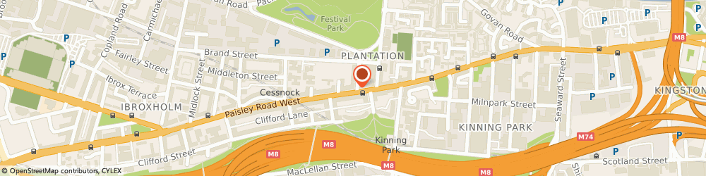 Route/map/directions to H W Pfaff, G51 1BN Glasgow, 264 VETERINARY SURGERY. PAISLEY ROAD WEST