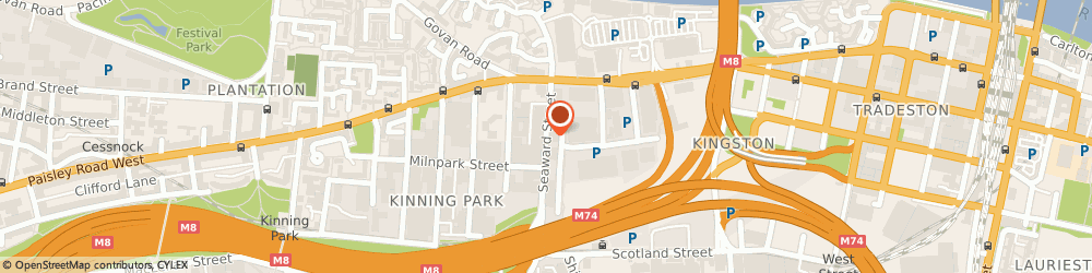 Route/map/directions to Ja Analysis Limited, G41 1HJ Glasgow, Caledonia House 89 Seaward Street