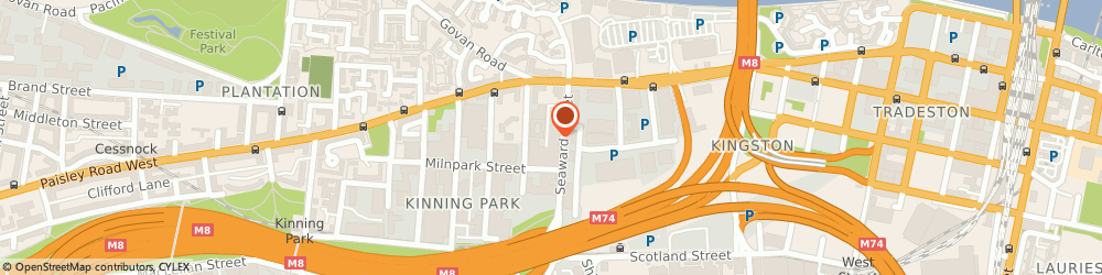 Route/map/directions to Imagine Furniture & Interiors, G41 1HJ Glasgow, 82 SEAWARD STREET