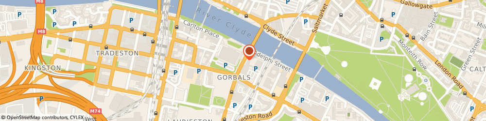 Route/map/directions to The Flyscreens Shop, G5 9RD Glasgow, 231 Gorbals St