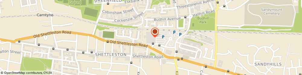 Route/map/directions to Tesco Mobile, G32 6UB Glasgow, Annick Street