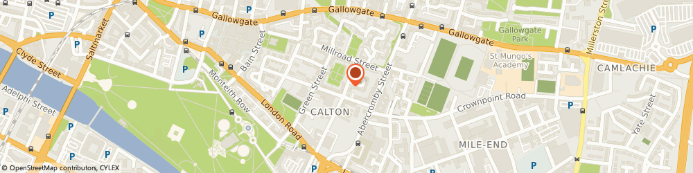 Route/map/directions to Polish Plasterer, G40 2RR Glasgow, 154 Tobago Street
