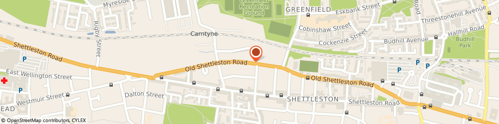 Route/map/directions to A. Mccabe Electrical Services, G32 7HN Glasgow, THE OLD SCHOOL, 189 OLD SHETTLESTON ROAD
