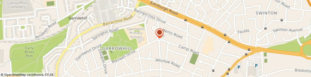 Route/map/directions to UPS Solutions Logistics, G69 6RR Glasgow, Thornbridge Road, 55