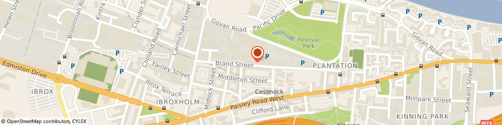 Route/map/directions to Image Systems & Technology Ltd, G51 1DH Glasgow, 150 Brand St