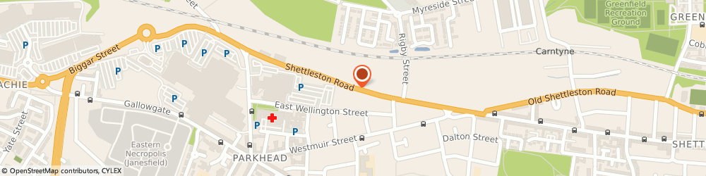 Route/map/directions to Sign Image Glasgow Limited, G31 5JL Glasgow, 317 - 349 Shettleston Road