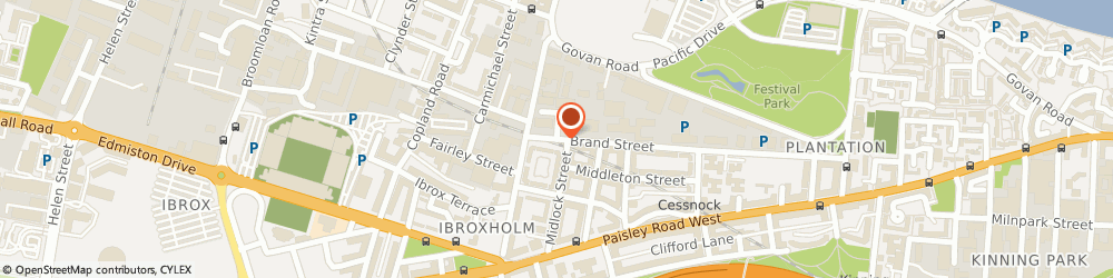Route/map/directions to Grimment Investments Ltd, G51 1DR Glasgow, 17 Brand Pl
