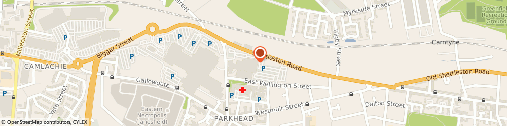 Route/map/directions to Tesco Phone Shop, G31 4BG Glasgow, Glenpark Street