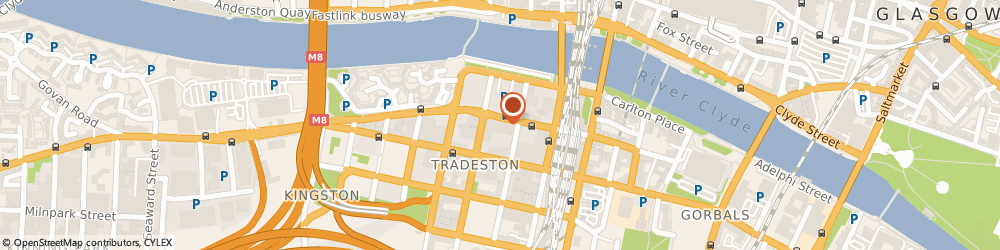 Route/map/directions to CHASEUP LTD, G5 8BJ Glasgow, 71-73 Kingston St