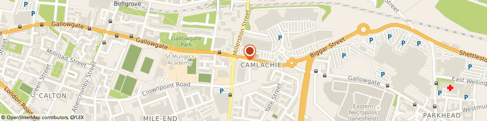 Route/map/directions to Gef Print Services, G31 4JH Glasgow, 2 Camlachie Street