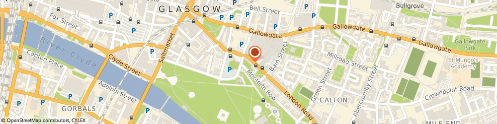 Route/map/directions to Neon Gecko, G40 1PB Glasgow, 204 London Rd