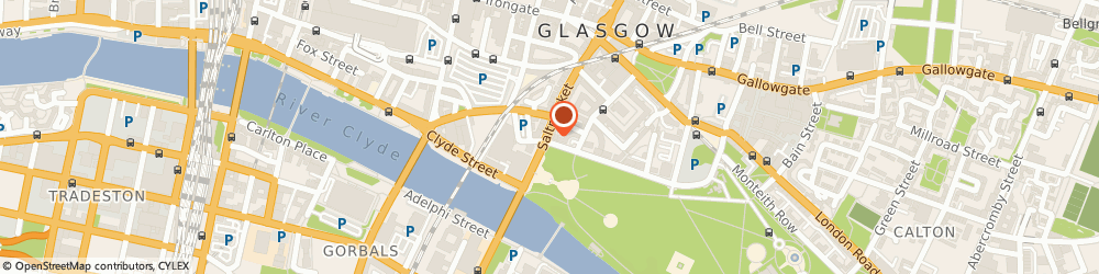 Route/map/directions to Dunlop, Allen & Co, G1 5LG Glasgow, 177 Saltmarket