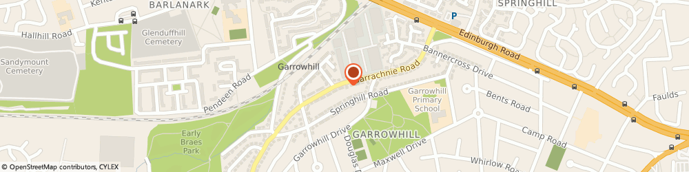 Route/map/directions to MUI Scaffolding Services, G69 6PQ Glasgow, 118 Barrachnie Rd