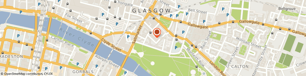 Route/map/directions to St Andrews In The Square, G1 5PP Glasgow, No 1 St Andrew's Square