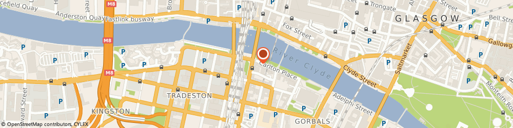 Route/map/directions to Millars Law Accountants, G5 9TD Glasgow, 87 Carlton Pl