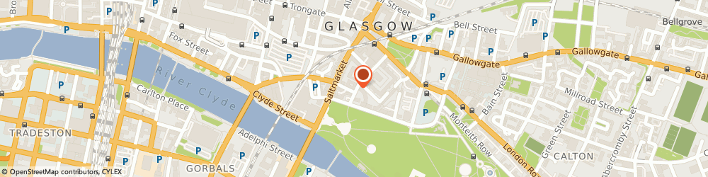 Route/map/directions to Pageforward Learning, G1 5PR Glasgow, 22 Turnbull Street, Suite 108