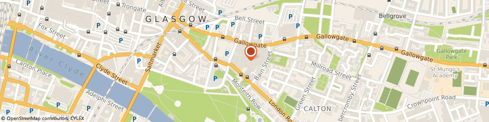 Route/map/directions to PTS Domestic Services, G40 2SS Glasgow, 9 Stevenson Street