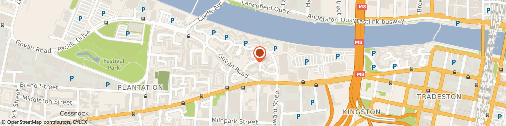Route/map/directions to 1st Active Security Ltd, G51 1HD Glasgow, 19 Marine Crescent